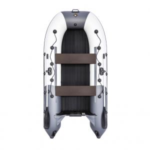 Лодка ПВХ Ривьера 3200 НДНД Гидролыжа надувное дно низкого давления