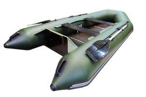 Лодка ПВХ Хантер 320 Л надувная под мотор