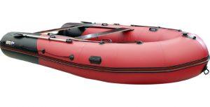Лодка ПВХ Хантер 420 ПРО надувная под мотор